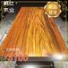 上海静安奥坎原木茶桌小户型实木餐桌实木大板桌量大从优