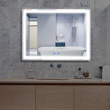 斐色耐原创专利多功能镜子充电款收纳led化妆镜带5倍放大美容镜