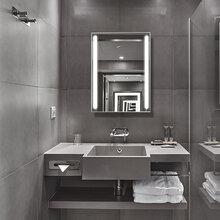 斐色耐智能触摸开关led浴室镜壁挂镜子卫生间带灯防雾高清可批发