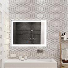 深圳大牌厂家直销led浴室镜壁挂洗水间智能镜