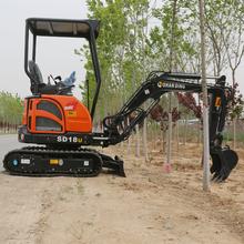 驻马店堤坝清淤小型挖掘机厂家批发价格--山鼎机械