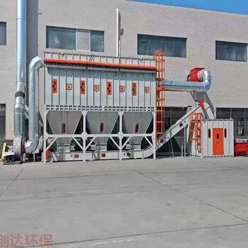工業除塵設備創達環保脈沖中央除塵系統