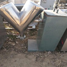 廠家直銷三維混合機現貨供應全不銹鋼304制作二手V型混合機圖片