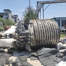 佳业二手不锈钢反应釜,6300L不锈钢反应釜处理图片