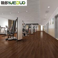 SPC石塑地板WPC室內鎖扣地板PVC地板/廣東粵多圖片