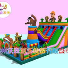 甘肃天水公园孙悟空充气大滑梯真的超有面子图片