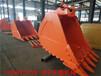 日立3501.5方岩石斗挖掘机挖斗铲斗定制到天诺机械
