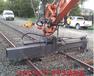 挖掘机枕木机挖掘机铁路铺设夹具生产厂家济宁天诺机械