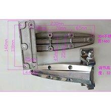 供应(304不锈钢铰链)BHC1460不锈钢铰链1460半埋门铰链