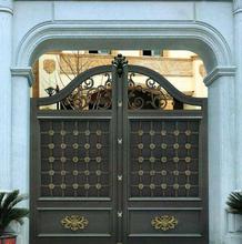 鄂尔多斯达拉特旗欧式庭院大门铝合金阳台护栏价格图片