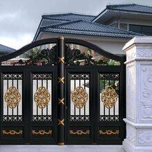 内蒙古阿拉善盟别墅庭院大门铝艺阳台护栏价格图片图片