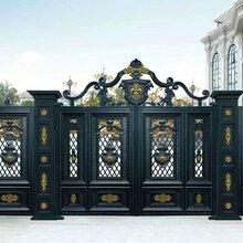 乌兰察布化德铝艺欧式大门铝艺楼梯扶手生产厂家