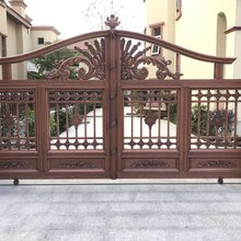 内蒙古巴彦倬尔铝艺欧式大门欧式围墙护栏生产厂家