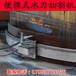 水刀切割油罐鋼板水刀切割管道水切割除銹機礦用切割
