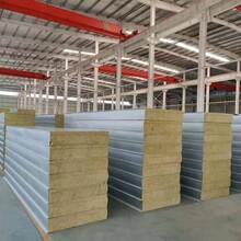 江蘇彩鋼巖棉夾芯板生產基地20公分巖棉夾芯板加厚加工定制圖片