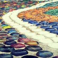 鹅卵石图片汇总鹅卵石路贴图施工图片