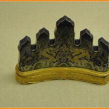 清代文房墨宝笔架的收藏价值及最新成交记录