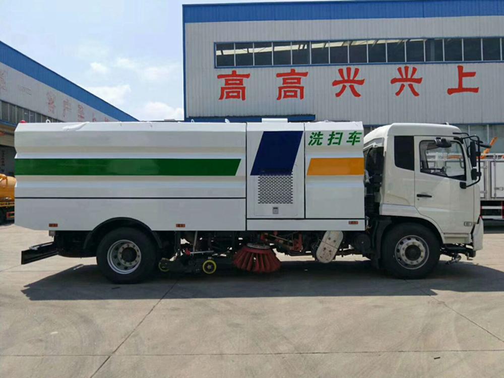 十五吨国六东风天锦洗扫车洗扫车采购