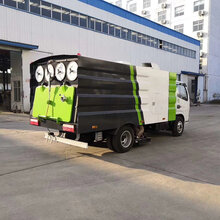 东风多利卡5方清扫吸尘车吸尘清扫车生产厂家图片
