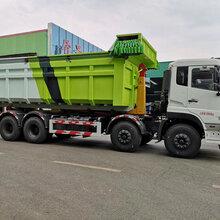东风天龙特大型20方压缩垃圾站环卫拉臂车促销图片