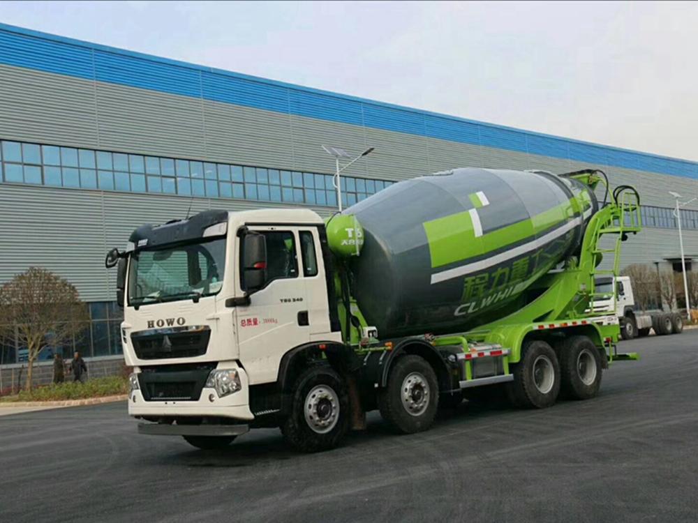 豪沃T5G轻量化15方搅拌车水泥搅拌车价格表