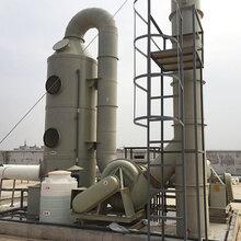 九江长德多规格有害废气处理设备PP废气塔