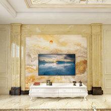 佛山人造石背景墻冠亦品客廳裝修等家裝裝修
