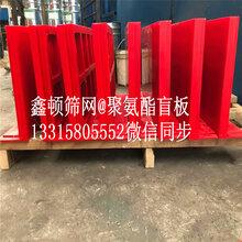 矿山机械配件_聚氨酯出料盲板筛舌305610生产厂家最新价格