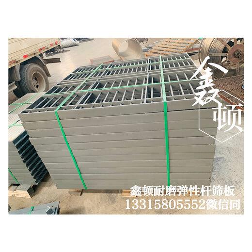 北京海淀聚氨酯包邊彈性桿篩板制造廠現貨定做