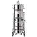 威德爾工業吸塵器廠家直銷大功率工業吸塵器WX100/75車間金屬顆粒