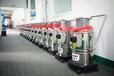 江蘇揚州木材加工廠吸粉末顆粒物用的80L接氣源工業吸塵器WX-180