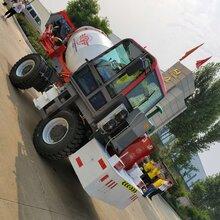 自上料混凝土搅拌车商混车混凝土泵车图片