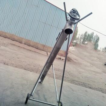 小型热镀锌管螺旋抽粪机猪场绞龙干湿两用吸粪机移动方便抽粪机
