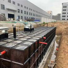 百色地埋式消防給水設備廠家,裝配式BDF消防水箱圖片