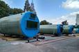 煙臺玻璃鋼污水提升泵站處理設備,一體化泵站地埋