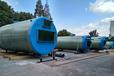 成都玻璃鋼污水提升泵站處理設備,預制井筒