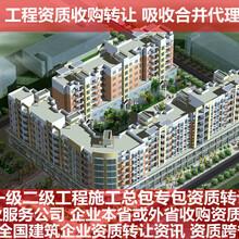 宁波通信总承包资质转让自有建筑公司图片