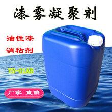 湖州油漆破粘剂AB剂价格漆雾凝聚剂AB剂杭州漆水分离剂循环污水处理
