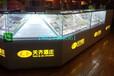 湖北烟酒专卖店定制烟酒柜子发光玻璃烟柜
