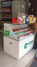 重庆烟酒专卖店生产厂家连体烟柜转角烟柜生产厂家图片
