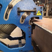 双面滚剪式刨边机不用人工翻板自动坡口机7图片