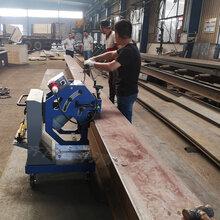 双面钢板坡口机滚剪式复合板平板坡口机7图片