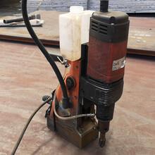 空心钻磁力钻机摇臂式钢板磁力钻应用范围图片