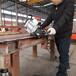 铁板倒角用的手提式铁板坡口机价格贵嘛