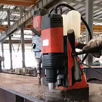 山東德喜磁座鉆現貨供應鋼板取芯鉆機型號