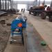 人防工程坡口機自動行走平板倒角機刨邊機