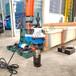 食品行業開坡口管道坡口機220V手提式倒角機