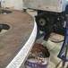 钢板滚剪倒角机箱型柱倒角焊接坡口机3