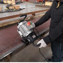 外坡口倒角钢板坡口机经济型SKF-15手提铣边机图片