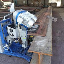 雙電機調速鋼板銑邊機自動行走雙面坡口銑邊機圖片